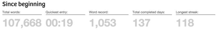 750 words history