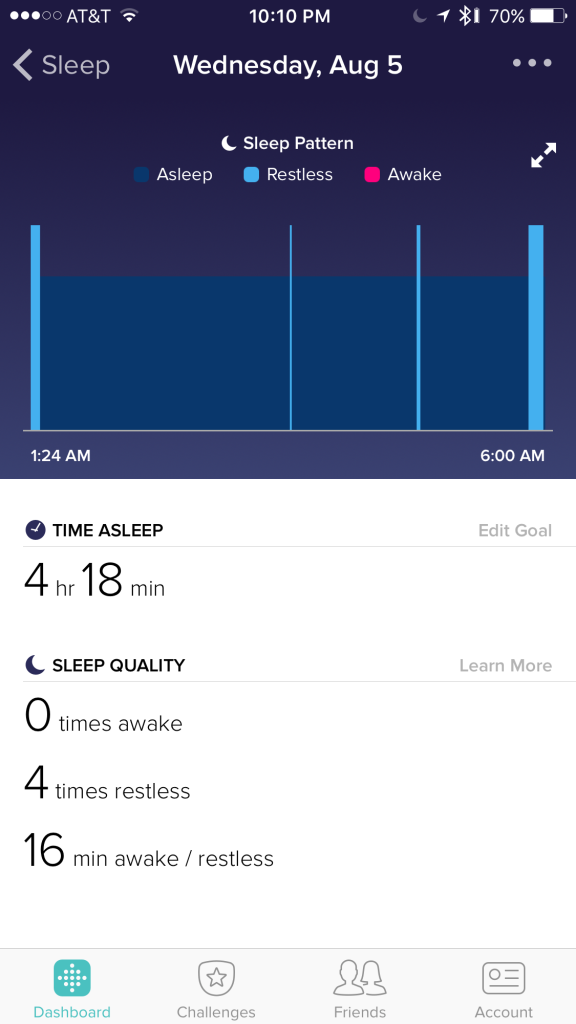 fitbit sleep tracker 2