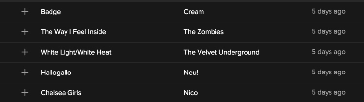 spotify discover weekly 8