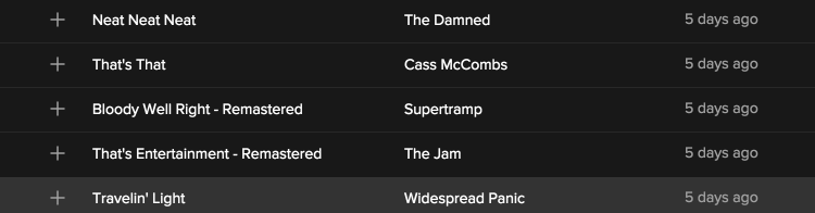 spotify discover weekly 6