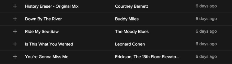 spotify discover weekly 9