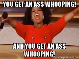 ass-whooping